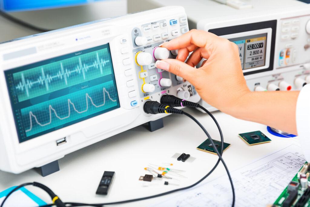 Drews Electronic Dienstleistungen Inspektion und Test verschiedene Pruefverfahren