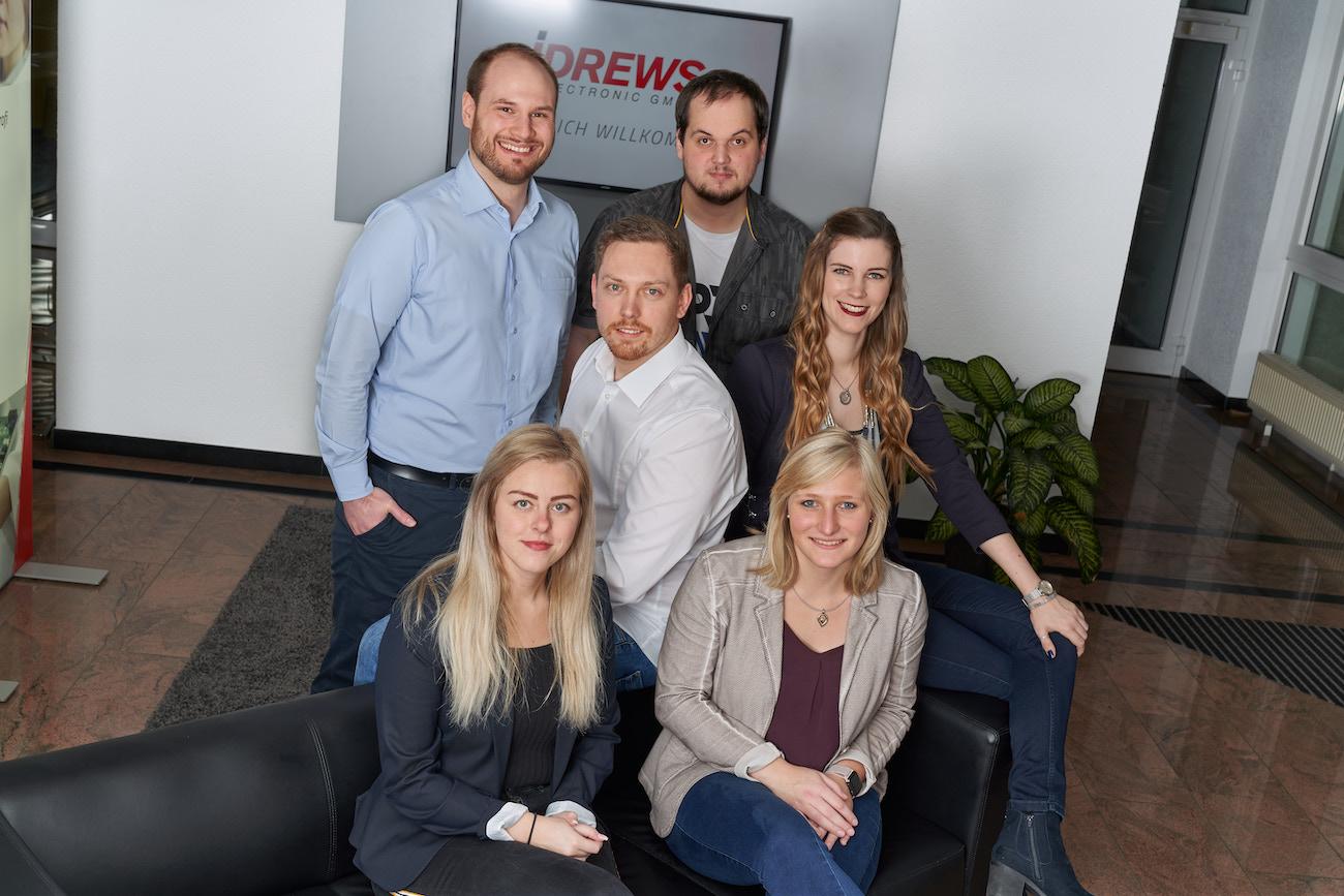 Drews Electronic Karriere Mitarbeiterportraits Team und Ausdauer